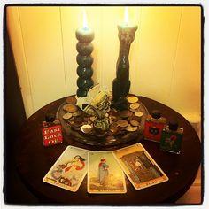 Altars:  Hoodoo Altar.