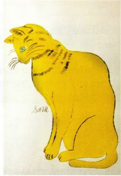 "BOOKTRYST: Rare Warhol ""Cats"" Book Estimated to Sell For $20K-$30K More At FOSTERGINGER @ Pinterest"