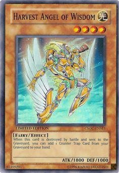 yugioh harvest angel of wisdom - Google Search