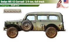 Dodge 4x4 WC-53 Carryall