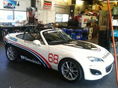 Need some graphics for your race car? Sure, we can help you with that....www.MontereySigns.com