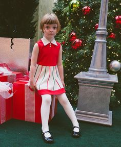 Saw Santa twice like it was NBD. Girly Girl Outfits, Cute Little Girls Outfits, Cute Girl Dresses, Tutus For Girls, Cute Girls, Kids Outfits, Cute Outfits, Petticoated Boys, Cute Tights