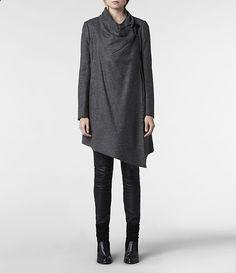 AllSaints Check Monument Coat | Womens Coats