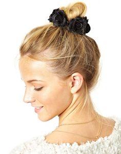 ASOS Rose Hair Bun Holder