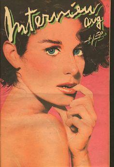 Debra Winger 1980 Andy Warhol's Interview Magazine