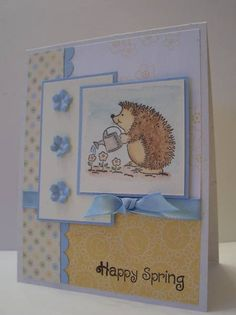 Happy Spring (Mojo85) by MrsBoz - Cards and Paper Crafts at Splitcoaststampers