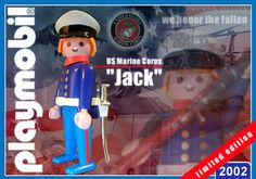 """US Marine """"Jack"""" // The image and figures do not necessarily reflect the opinion of Playmobil. #playmobilcustom"""