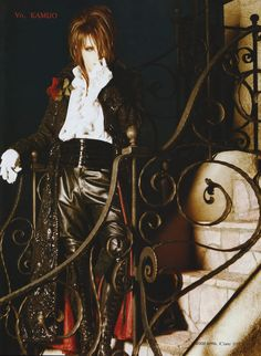 kamijo from the band versailles as a vampire prince