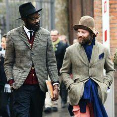 Always be honest and work hard, you will get what you deserve.  PhotographerTommy Ton's Street Style@tommyton| Sam Lambert @ArtComesFirst and unknown | Source @GQ|  #ThirteenThievesCo#Fashion #Fall2013 #Style #Menswear #StreetStyle #glasses #Hat #SkinnyTie #Portrait #Suit #DarkColors #Florance #PittiUomo #TradeFair #Beards #BeardBalm #StreetStyle #Random #BestDressed #designer #ArtComesFirst #Europe