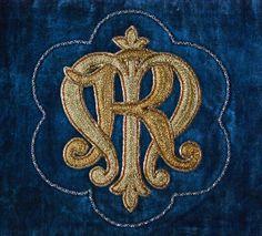 Goldwork Monogram - Maria