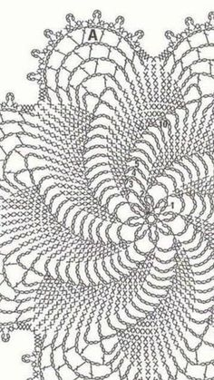 Image gallery – Page 566186984399859855 – Artofit Crochet Flower Squares, Free Crochet Doily Patterns, Crochet Doily Rug, Crochet Snowflake Pattern, Crochet Symbols, Crochet Dollies, Crochet Motifs, Crochet Tablecloth, Crochet Diagram