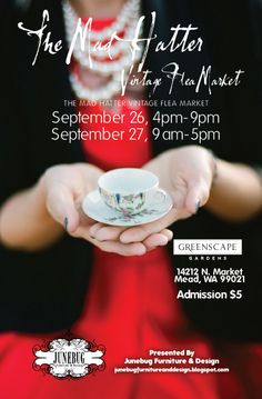 The Mad Hatter Vintage Flea Market September 26 & 27, 2014