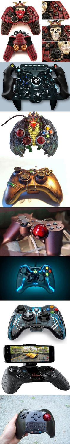 Some interesting gamepads…