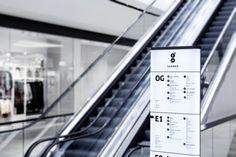 Современный образ Штутгарта в интерьере торгового центра GERBER по проекту Ippolito Fleitz Group