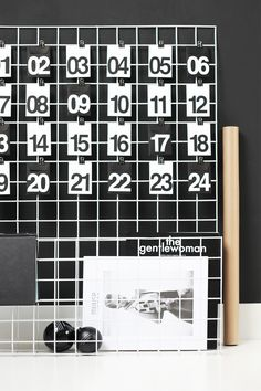 Countdown to Christmas: DIY Advent Calendars for the Modern Home
