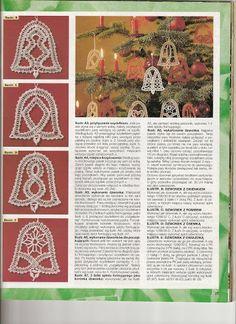 From Annacraft - Lada - Picasa-Webalben Bobbin Lace Patterns, Lace Making, Album, How To Make, Archive, Pink, Christmas Balls, Christmas Ornaments, Picasa