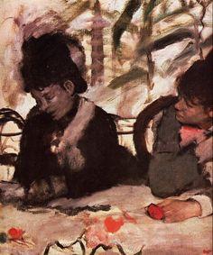 At the Cafe Edgar Degas - circa 1877
