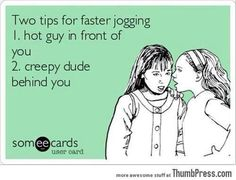 Tips for joggers