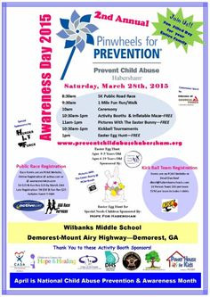 2nd Annual Pinwheels for Prevention Awareness Day