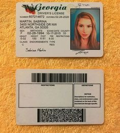 54 Best Drivers license images in 2019 | Birth certificate