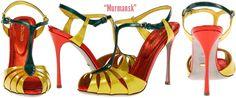 Sergio Rossi Murmansk T-Strap Sandal - Buy Online - Designer Sandals