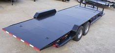 Tilt Bed Trailers - We can special order any size trailer to fit your needs! Tilt Trailer, Car Hauler Trailer, Trailer Diy, Trailer Plans, Custom Trailers, Boat Storage, Lifted Cars, Toyota 4runner, Dream Garage