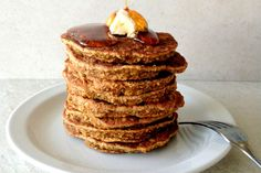Pumpkin Spice Pancakes ‹ Hello Healthy