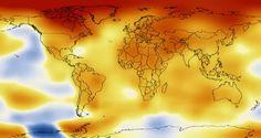 A NASA lançou um novo video que mostra como as temperaturas globais aumentaram desde 1950, vendo-se claramente o efeito do aquecimento global.