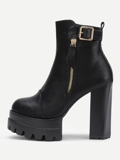 be0e60453a1 Block Heeled Ankle Boots  http   shopstyle.it l m5HI