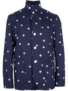 SS13 Woolrich Woolen Mills 'Garkunkel' Printed Jacket