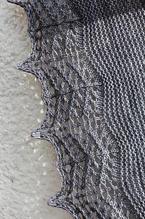 Titanium shawl Free TL. Sport wt on 8's.