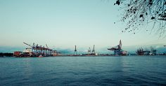 Hafen Waltershof - Hamburg