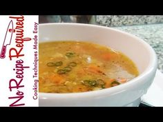 Homemade Chicken Soup may be the ultimate comfort food, and whenever I have a left over carcass & bones, it's time to cook up a pot. It is soo EASY to make & it's so much better than just tossing the bones. Watch this 5 minute video for step by step directions, and you'll be eating in no time!