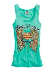 Harley-Davidson® Women's Embellished Tank Not this color tho Harley Davidson Womens Clothing, Harley Davidson Tank Tops, Harley Davidson Parts, Motorcycle Style, Motorcycle Outfit, Biker Style, Motorcycle Fashion, Women Motorcycle, Motorcycle Garage