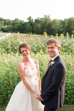 There is nothing like a field of sunflowers!  ❤  Inn at Westwood Farm: A lovely B&B in Orange, Virginia — your home in the country & the perfect venue for your wedding ceremony, reception, rehearsal dinner or event!  ❤  See our Pinterest boards: http://www.pinterest.com/elizabethgoeke/ for wedding inspiration & our inn, barn, and grounds in all seasons, or visit www.innatwestwoodfarm.com  ❤  #innatwestwoodfarm #barnweddings #rusticweddings #countryweddings