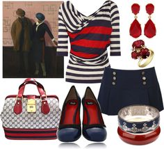 """Guy Pene du Bois."" by ana-cris on Polyvore"