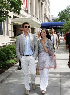 Crown Prince Frederik and Crown Princess Mary in New York