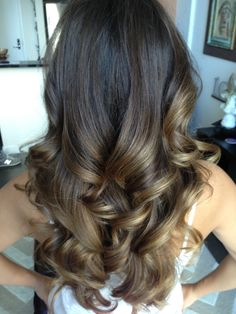 This is Laura's Ombre Balayage Done by Carole @ GLEAM HAIR STUDIO in South Miami