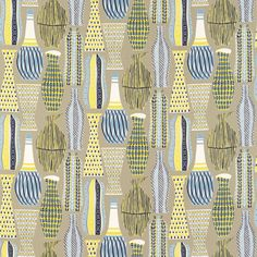 Image detail for -... Fabric | 50's Fabrics Prints Fabric Collection | Sanderson Fabric