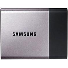 Samsung T3 MU-PT1T0B/AM 1 TB External Solid State Drive - USB 3.1 - 450 MB/s Maximum Read Transfer Rate - 450 MB/s Maximum Write Transfer Rate - Portable - 256-bit Encryption Standard