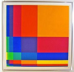 Richard Paul Lohse.     Art abstrait géométrique - estampes - galerie olivier harlingue, 418 avenue roland garros, zone d'activité sud, 78530 buc.