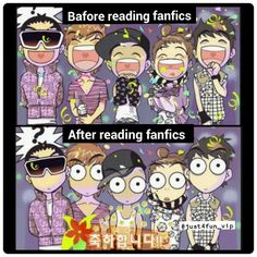 Big Bang // I wish I could see the faces of Kpop stars when they read fanfics about themselves *-* Big Bang Memes, Big Bang Kpop, Vip Bigbang, Daesung, All About Kpop, Dramas, Jong Suk, Korean Entertainment, Fantastic Baby