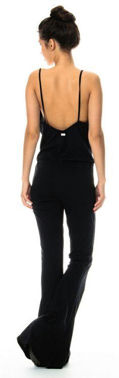 Low back jumpsuit