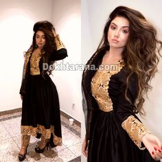 Afghan Clothes, Afghan Dresses, Sharara, Salwar Kameez, Stylish Dresses, Fashion Dresses, Afghan Girl, Types Of Dresses, Western Outfits