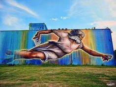 """Preservons La Creation"" (Let's Preserve the Creation). By Sebastien ""Mr. D"" Boileau in San Jacinto Street, Houston, Texas, USA. Photo by sulla55."