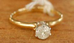 The New Engagement Series: .5 caret Diamond, 14k gold! #engagement #weddings #14kGold