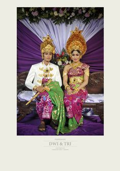 balinese wedding at Tanah Lot