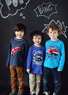 Gnu Brand Boys' T-shirts, embellished with three-D patchwork and heavy-stitch embroidery, were fall 2013 best sellers. Their popularity is a no-brainer. What little boy doesn't love cars? What parent doesn't appreciate rich colors and lots of texture? www.gnubrand.com
