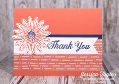 Sending thank you cards seems to be a lost art, but it's one that we should definitely bring back. Here's a quick & easy thank you card you can make today!