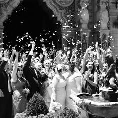 Same-Sex Real Wedding Photos